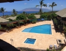 Hotel wailea pool deck